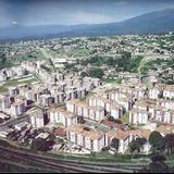 """Vista a�rea de la Unidad Habitacional """"Jardines de Xalapa"""" a mediados de los a�os 80"""