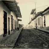 Calle de Victoria, diciembre de 1929, Jalapa, Veracruz