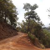 Descenso hacia el cañón del Río Hondo. Marzo/2014