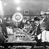 Juego de ruleta, en el sal�n Monte Carlo
