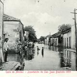 Inundaci�n de Villahermosa, en 1909