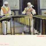 Tocadores de Marimba