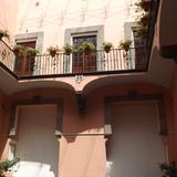 Patio Interior y balc�n del Museo Amparo. Mayo/2012