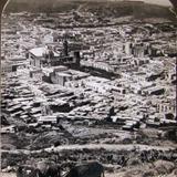 Vista de pajaro Hacia  1900