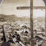 desde la Montana Sagrada  Hacia  1900
