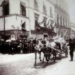 Fiestas en Leon  Hacia 1900