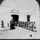 Soldados de Villa  Hacia 1914