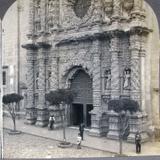 Fachada de la Iglesia hacia 1909