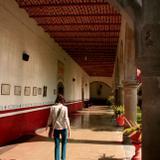 Recorriendo los corredores del Convento del Satuario de Sayula