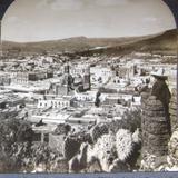 Panorama desde el Cerro  Hacia 1900