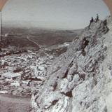 Panorama desde Las Nubes Hacia 1900