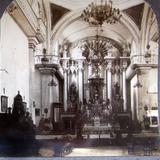 Interior de Iglesia  Hacia 1900