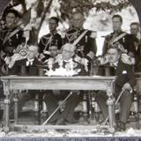 Celebracion de la Independencia  Hacia 1930