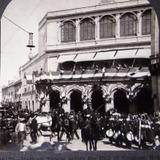 Tropas junto al Congreso Hacia 1900