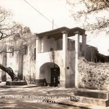 Entrada al convento de Churubusco