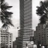Contruccion de la Torre Latinoamericana Hacia 1950