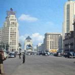 Avenida Juarez Mexico D F en 1948