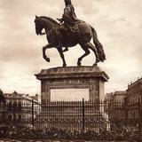 Estatua de Carlos IV (circa 1920)