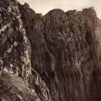 El cráter del Popocatépetl (circa 1920)