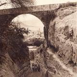Camino en San Andrés Chalchicomula (circa 1920)