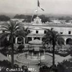 Plaza  Hacia 1945