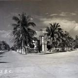 Panorama Callejero Hacia 1945