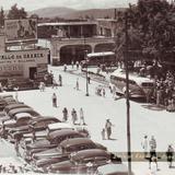 Sitio de Coches Hacia 1950