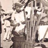 Vendedor de Nieve Hacia 1946