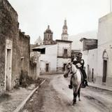 Calle e Iglesia Hacia 1945