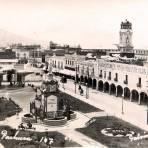 Panorama de la plaza Hacia 1930