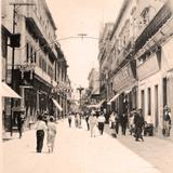 Calle de Hidalgo Hacia 1945