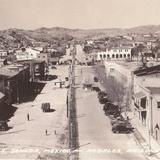 Linea divisoria Hacia 1945