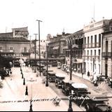 Calle Francisco y Madero Hacia 1930