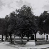 La Plaza principal Hacia 1945