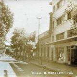 Calle Alvaro Obregon Hacia 1945