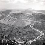 Construcci�n de la autopista M�xico - Cuernavaca (1952)