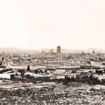 Puebla, vista panor�mica, 1865