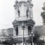 Plaza y el reloj Hacia 1930