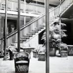 Lobby del Hotel Mirador Hacia 1945
