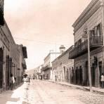 Monterrey, Calle del Comercio 1885-1890
