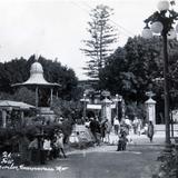 Jardin Morelos Hacia 1945