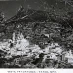 Vista panoramica Hacia 1945 - Taxco, Guerrero