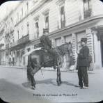 Policia de la Ciudad de Mexico D F Hacia 1900