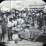 Ninos Aguadores de la Ciudad de Mexico D F Hacia 1900