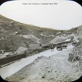Camino entre Zacatecas y Guadalupe Hacia 1900