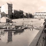 Tampico, vista desde el puente Romero Rubio