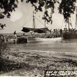 Uno de los Muelles Hacia 1945