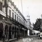 Portales y Plaza Hacia 1945