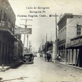 Calle de Zaragoza Hacia 1940