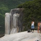 Cascadas de Hierve el Agua en San Lorenzo Albarradas. Julio/2014